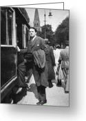 Street Scene Greeting Cards - Thomas Wolfe (1900-1938) Greeting Card by Granger