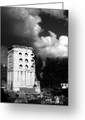 Funeral Greeting Cards - Tomb of Eurysaces the Baker Greeting Card by Fabrizio Troiani