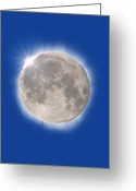 Solar Eclipse Greeting Cards - Total Solar Eclipse Greeting Card by David Nunuk