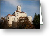 Patrician Greeting Cards - Trakoscan Castle Greeting Card by Ivan Klindic