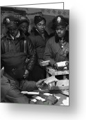 Pill Greeting Cards - Tuskegee Airmen, 1945 Greeting Card by Granger