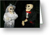 Ceremony Greeting Cards - Until Death Do We Part Greeting Card by Ellen Henneke