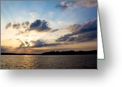 Ozarks Greeting Cards - Untitled Greeting Card by John K Sampson