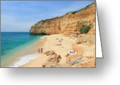 Beaches Greeting Cards - Vale de Centeanes Greeting Card by Carl Whitfield