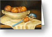 Franz Greeting Cards - Venetian Table Greeting Card by Pamela Allegretto