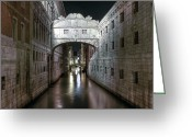 Veneto Greeting Cards - Venice Greeting Card by Joana Kruse