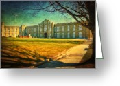 Kathy Jennings Greeting Cards - Virginia Military Institute  Greeting Card by Kathy Jennings