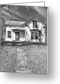 Guywhiteleyphoto.com Greeting Cards - Visiting the Old Homestead Greeting Card by Guy Whiteley