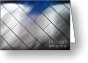 Cuty Greeting Cards - Wall Abstract Greeting Card by Eena Bo