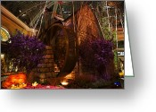 Conservatory Photo Greeting Cards - Water Wheel Greeting Card by Stephen Campbell