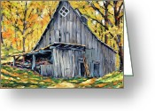 Ppy Gallery Greeting Cards - Where I want to be by Prankearts Fine Art Greeting Card by Richard T Pranke