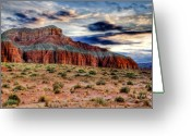 Desert Solitude Greeting Cards - Wild Horse Mesa Greeting Card by Utah Images