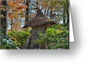 Naturalistic Greeting Cards - Winterthur Gardens Greeting Card by John Greim