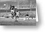 Soccer Stadium Greeting Cards - World Cup, 1966 Greeting Card by Granger