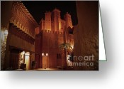 Showcase Greeting Cards - World Showcase - Morocco Pavillion Greeting Card by AK Photography