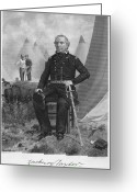 Signature Greeting Cards - Zachary Taylor (1784-1850) Greeting Card by Granger