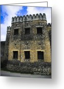 Koran Greeting Cards - Zanzibar Old Fort Greeting Card by Darcy Michaelchuk
