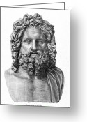 4th Greeting Cards - Zeus Greeting Card by Granger