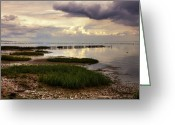 Tides Greeting Cards - Kampen - Sylt Greeting Card by Joana Kruse