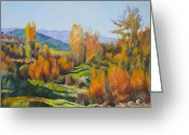 Quality Greeting Cards - Landscape Greeting Card by Stoiko Donev