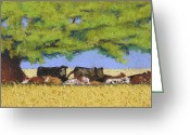 Shade Greeting Cards - 100 Degrees Plus Greeting Card by Tracy L Teeter