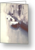 Natural Light Greeting Cards - Venezia Greeting Card by Joana Kruse
