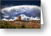 Swell Greeting Cards - San Rafael Swell Greeting Card by Mark Smith