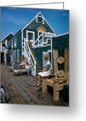 Vacationers Greeting Cards - Untitled Greeting Card by National Geographic