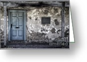 Entrance Door Greeting Cards - 131 Greeting Card by Joan Carroll