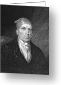 1833 Greeting Cards - James Madison (1751-1836) Greeting Card by Granger