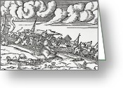 Marmara Greeting Cards - 1509 Istanbul Earthquake, Artwork Greeting Card by Cci Archives
