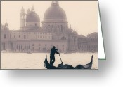 Baroque Greeting Cards - Venezia Greeting Card by Joana Kruse