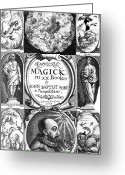 Magick Greeting Cards - 17th Century Science Publication Greeting Card by Library Of Congress