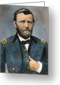 Mathew Greeting Cards - Ulysses S. Grant (1822-1885) Greeting Card by Granger