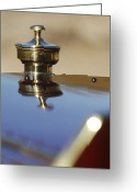 Car Mascot Greeting Cards - 1907 Panhard et Levassor Hood Ornament Greeting Card by Jill Reger