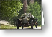 Suiza Greeting Cards - 1912 Hispano-Suiza 15 45 Alfonso XIII Jaquot Torpedo Greeting Card by Jill Reger