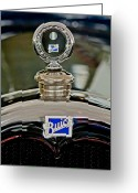 Car Mascot Greeting Cards - 1926 Buick Boyce Motometer Greeting Card by Jill Reger