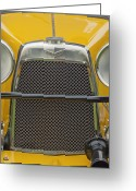 Short Greeting Cards - 1928 Aston Martin T-Type Bertelli Short-Chassis Sports Grille Greeting Card by Jill Reger