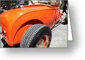 1929 Roadster Greeting Cards - 1929 Ford Roadster . 5D16495 Greeting Card by Wingsdomain Art and Photography