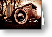 D700 Greeting Cards - 1930 Ford Model A Greeting Card by Phil