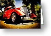 D700 Greeting Cards - 1930s Ford Tudor Greeting Card by Phil