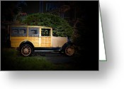 Ford Truck Greeting Cards - 1930s Ford Woody Greeting Card by Steven  Digman