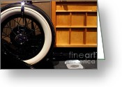 Model A Greeting Cards - 1931 Ford Model A Station Wagon - 7D17491 Greeting Card by Wingsdomain Art and Photography