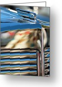 Car Mascot Greeting Cards - 1931 Marmon Sixteen Coupe Hood Ornament Greeting Card by Jill Reger
