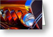 Car Ornaments Greeting Cards - 1932 Chevy Coupe Greeting Card by David Patterson