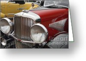 Churchill Downs Greeting Cards - 1933 Duesenberg Model J - D008168 Greeting Card by Daniel Dempster