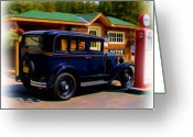 Johnston Greeting Cards - 1935 Chevy Greeting Card by Garry Staranchuk