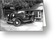 Classic Auto Greeting Cards - 1935 Dodge Classic Greeting Card by Glenn McCarthy Art and Photography