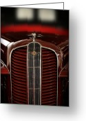 Delivery Greeting Cards - 1937 Dodge Half-Ton Panel Delivery Truck Greeting Card by Gordon Dean II