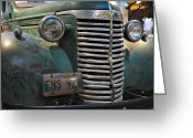 Chev Pickup Greeting Cards - 1940 Chevrolet Greeting Card by Daryl Macintyre